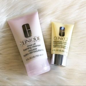 NWOB Clinique cleanser and moisturizer duo